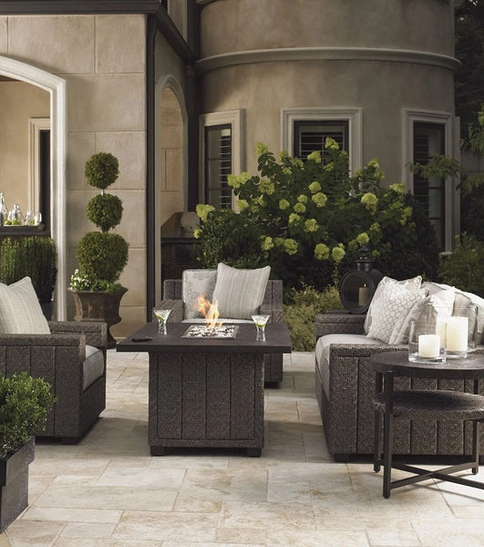 Tommy Bahama Outdoor Blue Olive Fire Pit