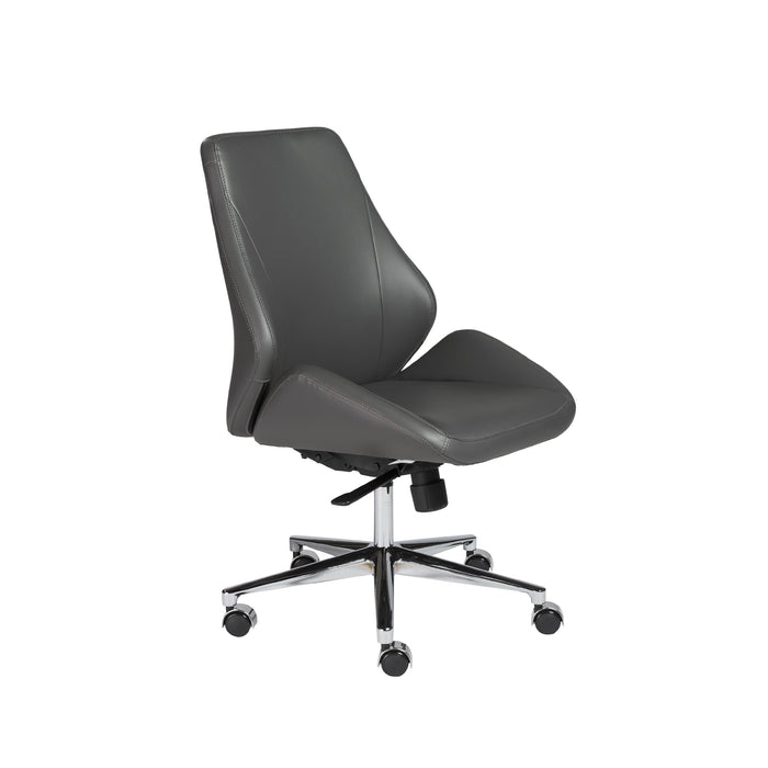 Euro Style Bergen Armless Low Back Office Chair