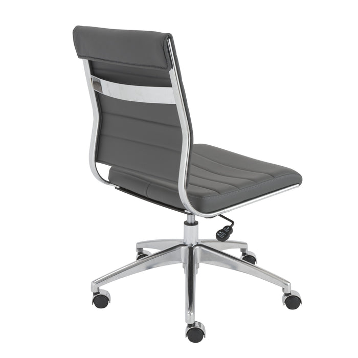 Euro Style Axel Armless Low Back Office Chair