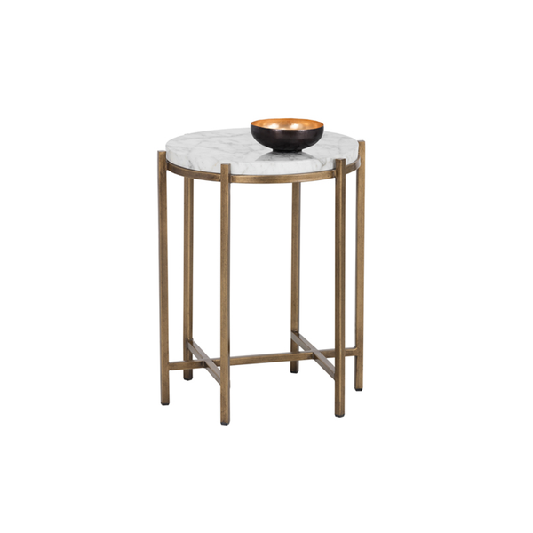 SOLANA END TABLE - ROUND