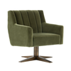 CENTRAL PARK SWIVEL CHAIR - OLIVE