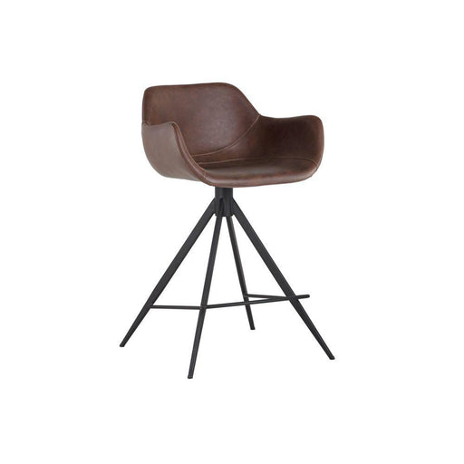 Sunpan Owen Swivel Counter Stool
