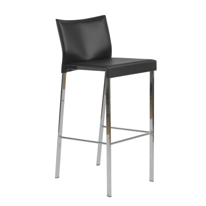 Euro Style Riley-B Bar Stool - Set of 2