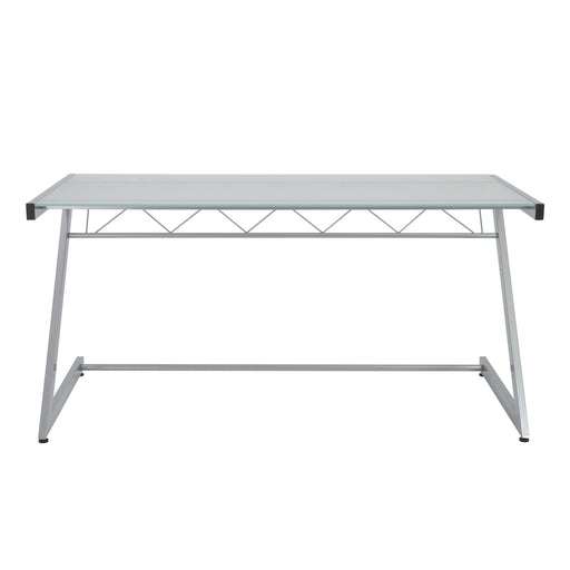 Euro Style Z Deluxe Large Desk With Shelf