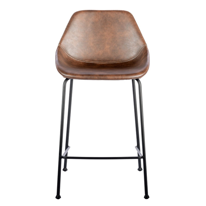 Euro Style Corinna Counter Stool - Set of 2