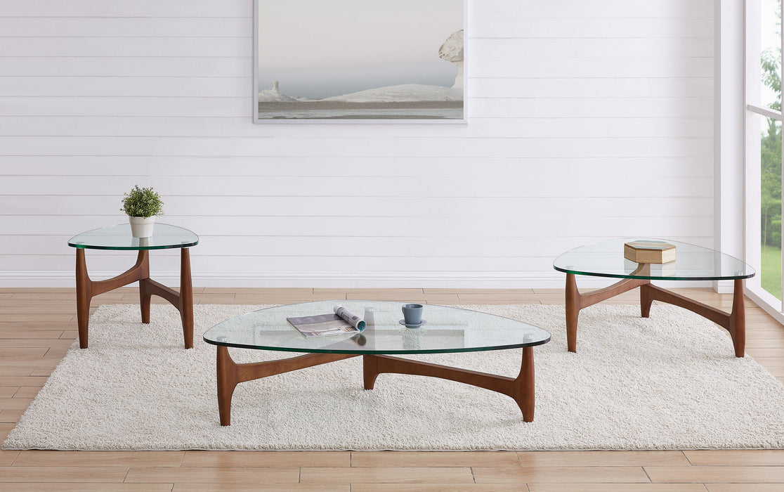 "Euro Style Ledell 51"" Coffee Table"