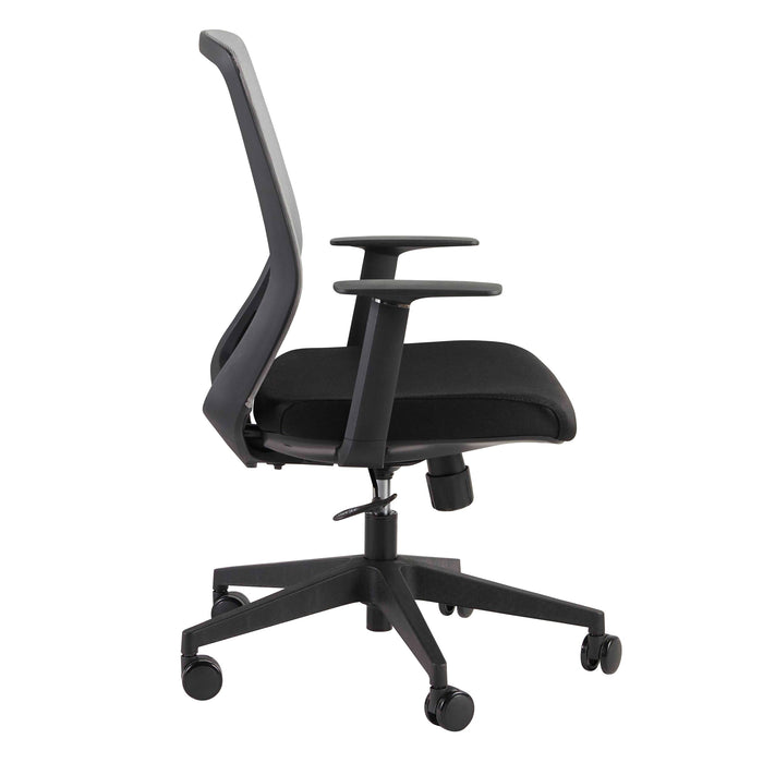 Euro Style Spiro Office Chair with Adjustable Arms