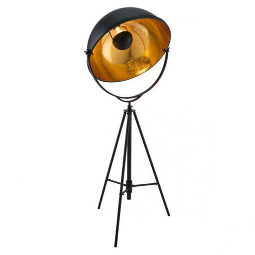 Zuo Vauxhall Floor Lamp Antique Black