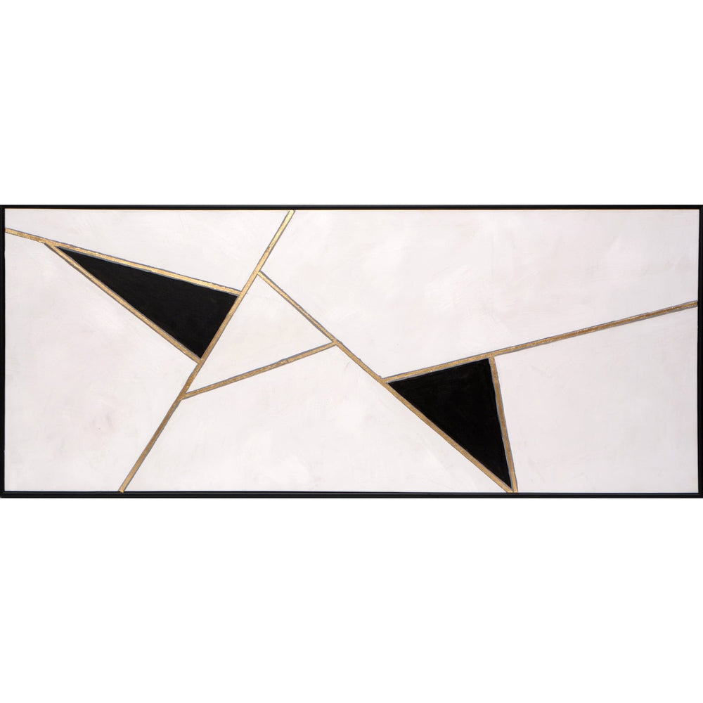 Sunpan Geometric Relation - Black Floater Frame