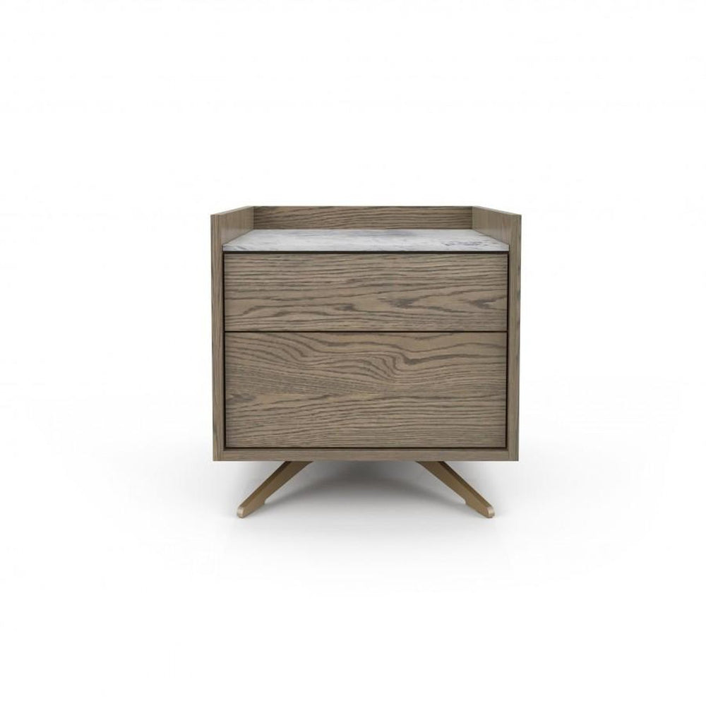 Huppe Memento Small Nightstand (Lacquered Glass Finish)