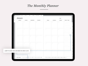 Undated Vertical Week Planner