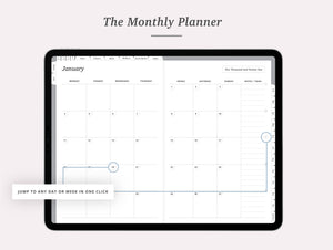 2021 Vertical Weekly Planner