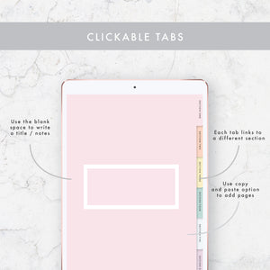 Dot, Grid, Lined & Blank Digital Notebook