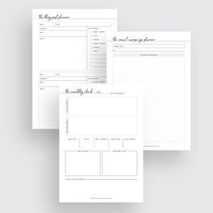 Online Business Planner