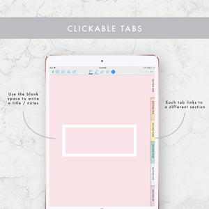 Lined 6-Tab Digital Notebook
