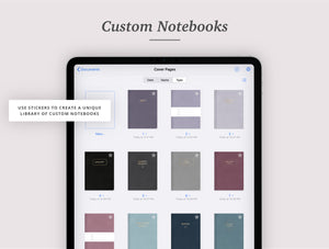 12 Digital Notebook Covers