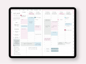 2020-2021 Vertical Weekly Planner