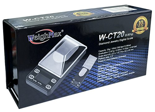 Weighmax Scale - W-CT20 (0.001)