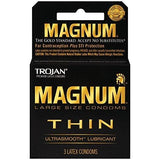 Trojan Condoms 3ct Boxes - 6 Box Bundle