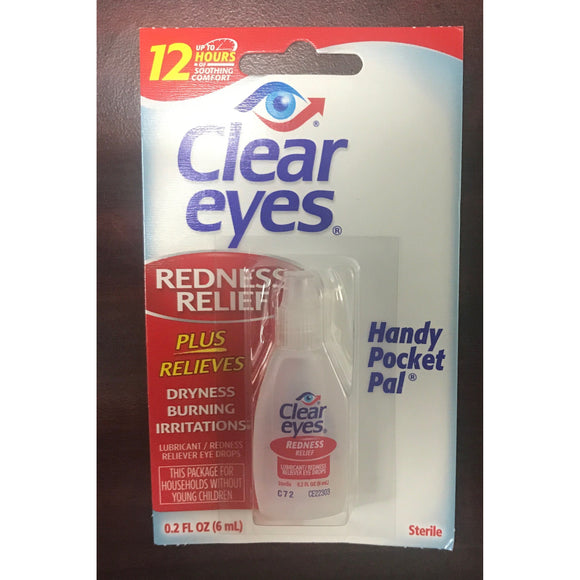 CLEAR EYES 12ct. 0.2 FL OZ DISPLAY