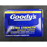 GOODY'S ES POWDER 6PK DISPLAY