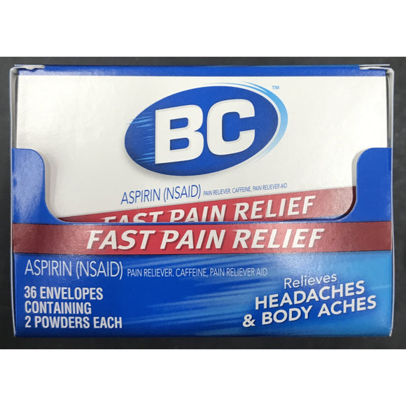 BC FAST PAIN RELIEF 2ct DISPLAY