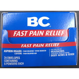 BC FAST PAIN RELIEF 6ct DISPLAY