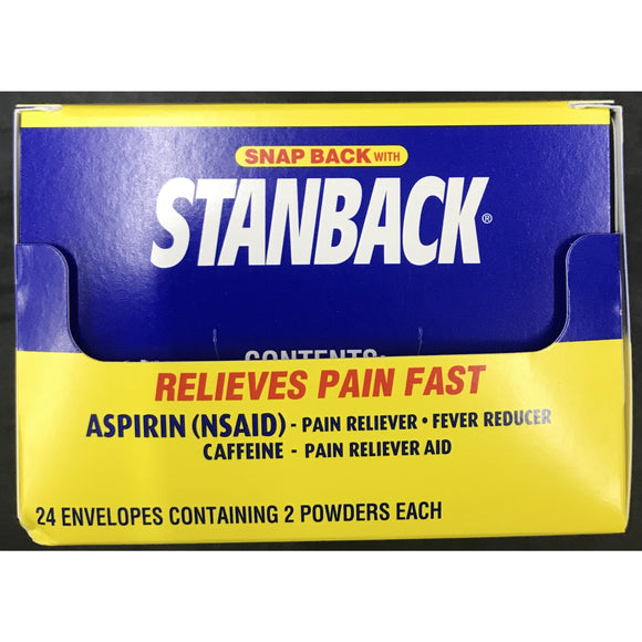 STANBACK HEADACHE POWDERS 2ct DISPLAY