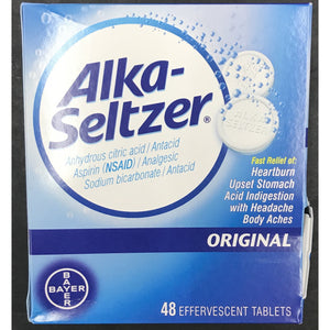 Alka-Seltzar Original Formula - 48ct Display