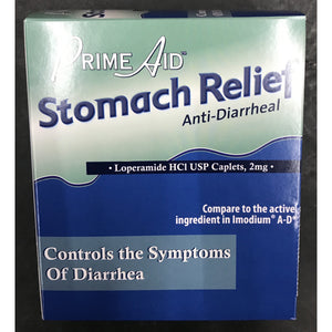 PRIME AID STOMACH RELIEF 72ct DISPLAY