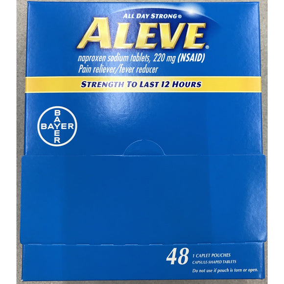 Aleve Pain Reliever 48ct Display