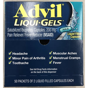 Advil Liqui-Gels 100ct Display