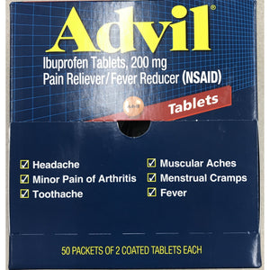 Advil Ibuprofen 100ct. Display