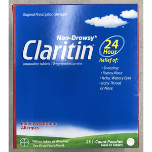 Claritin Non-Drowsy Allergy Relief 25ct. Display