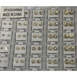 72ct. Stud Earring Refill Tray - Gold