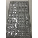 72ct. Stud Earring Refill Tray - Silver