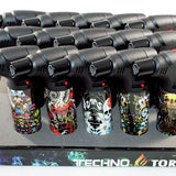 Techno Torch 15ct. Display Mixed Design