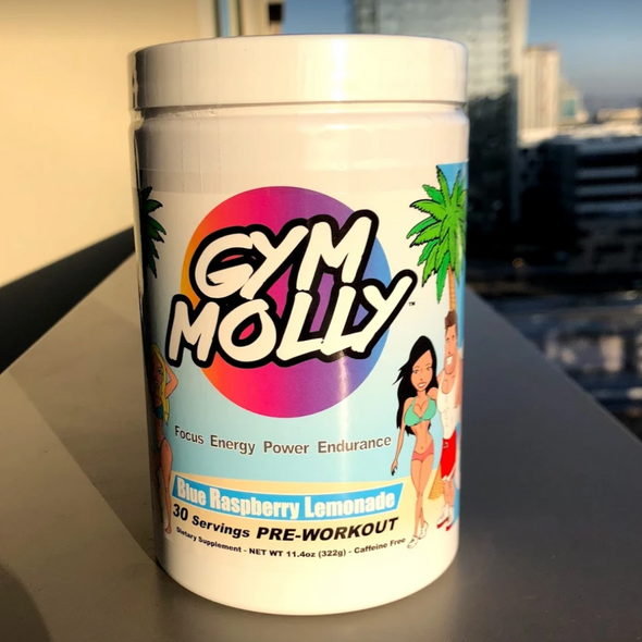 Gym Molly Caffeine Free Blue Raspberry Lemonade