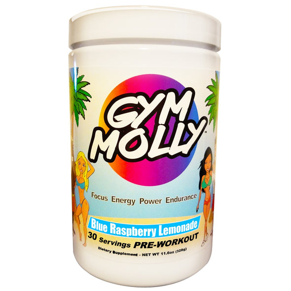 Gym Molly Blue Raspberry Lemonade