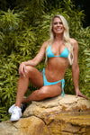 Nicole Visser Gym Molly Bikini Blue