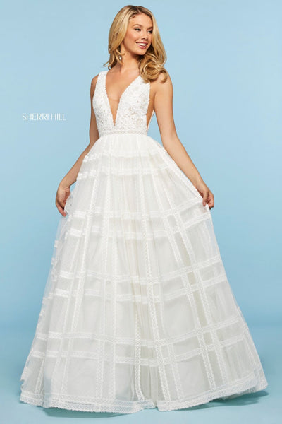 Sherri Hill 53505 Special Occasion Dress The Bridal Collection TBC Occasions