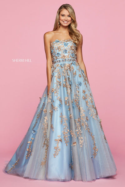 Sherri Hill 53589 Special Occasion Dress The Bridal Collection TBC Occasions