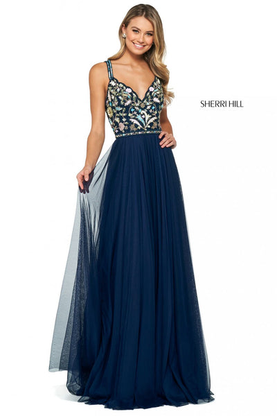 Sherri Hill 53803 Special Occasion Dress The Bridal Collection TBC Occasions