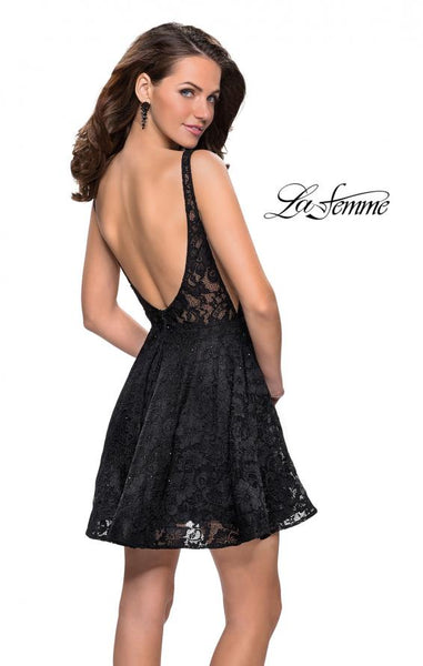 La Femme 26616 Homecoming Dress The Bridal Collection TBC Occasions