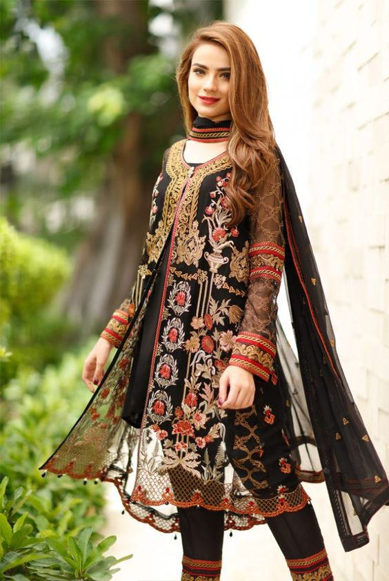 Front Open Double Shirt Dresses Frocks Designs 2018 2019 Collection 2020 By Dikhawa Online Shopping