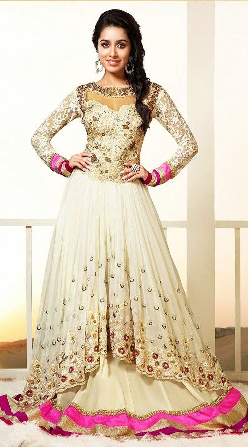 Maxi Style Anarkali Dresses Collection Frock Designs 2018-2019