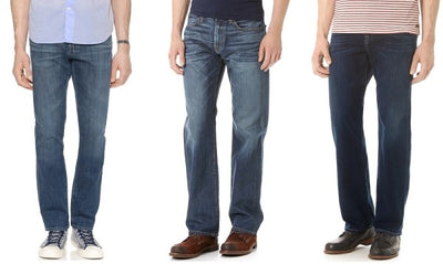 Types of Denim Jeans for Mens - Best Jeans for Men by Rise & Cuts