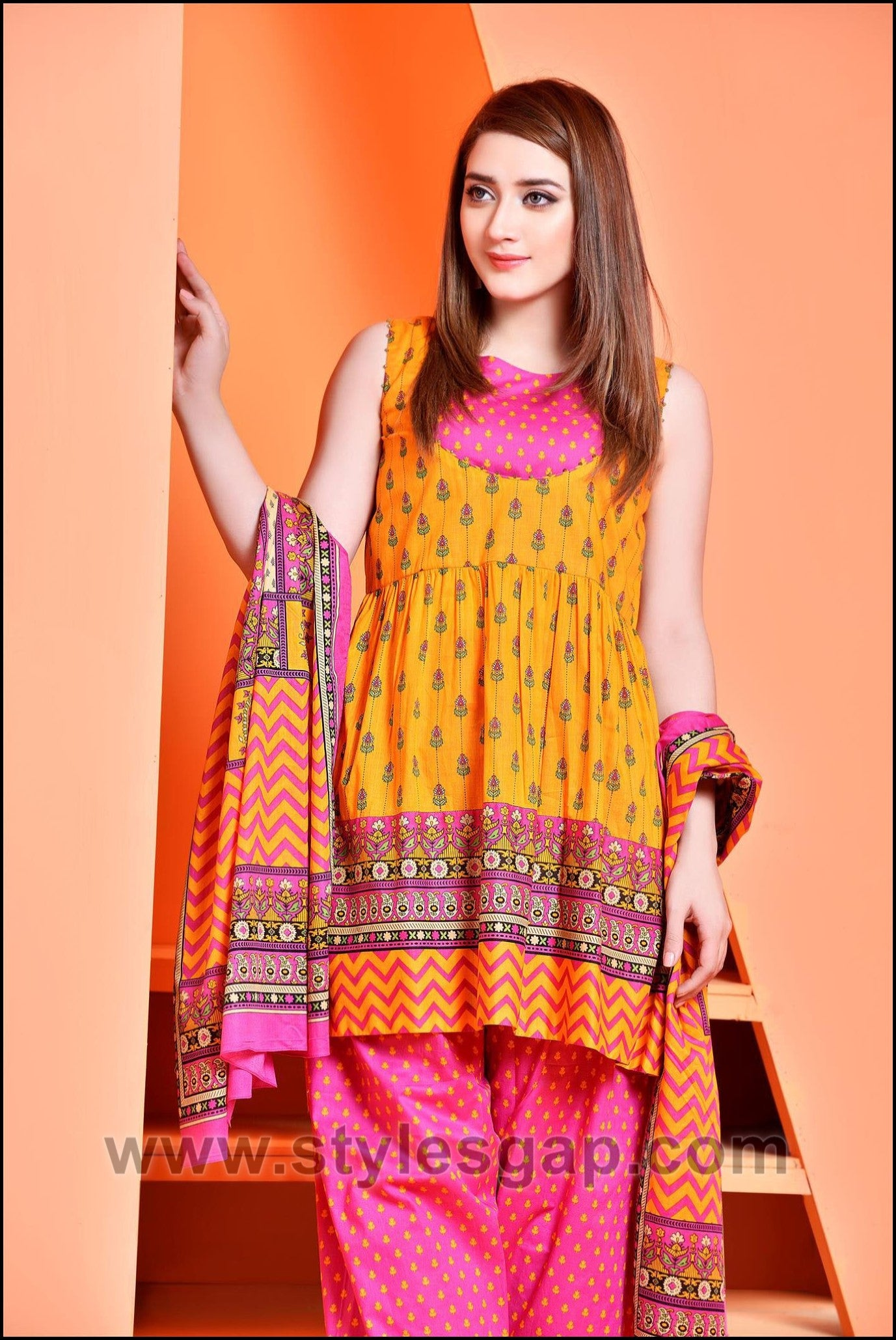 Summer Fashion Lawn Kurti Designs Trends Latest Collection 2020 By Dikhawa Online Shopping