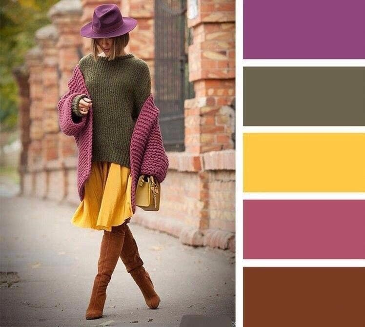 Winter Color Combinations For Women to Look Stylish