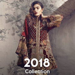 2018 Collection Pakistani Dresses in Pakistan